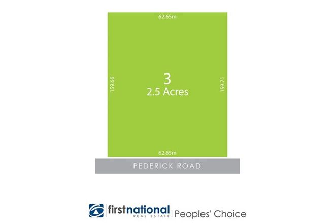 Picture of 3 Pederick Road, LEWISTON SA 5501