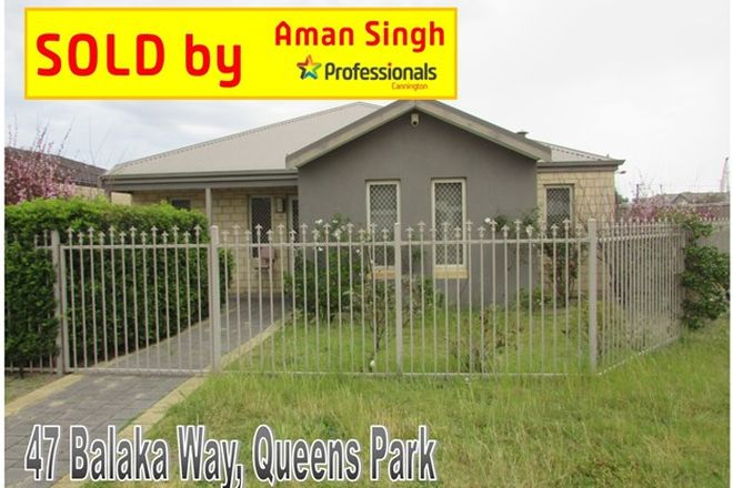 Picture of 47 Balaka Way, QUEENS PARK WA 6107