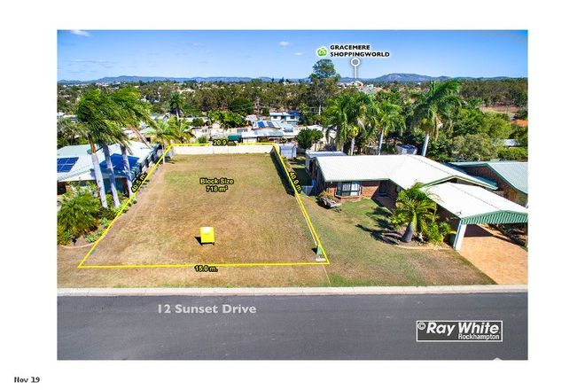 Picture of 12 Sunset Drive, GRACEMERE QLD 4702