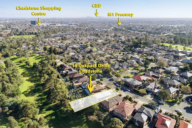 Picture of 18 Oakpark Drive, CHADSTONE VIC 3148