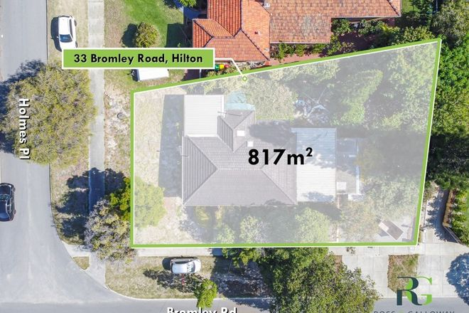 Picture of 33 Bromley Road, HILTON WA 6163