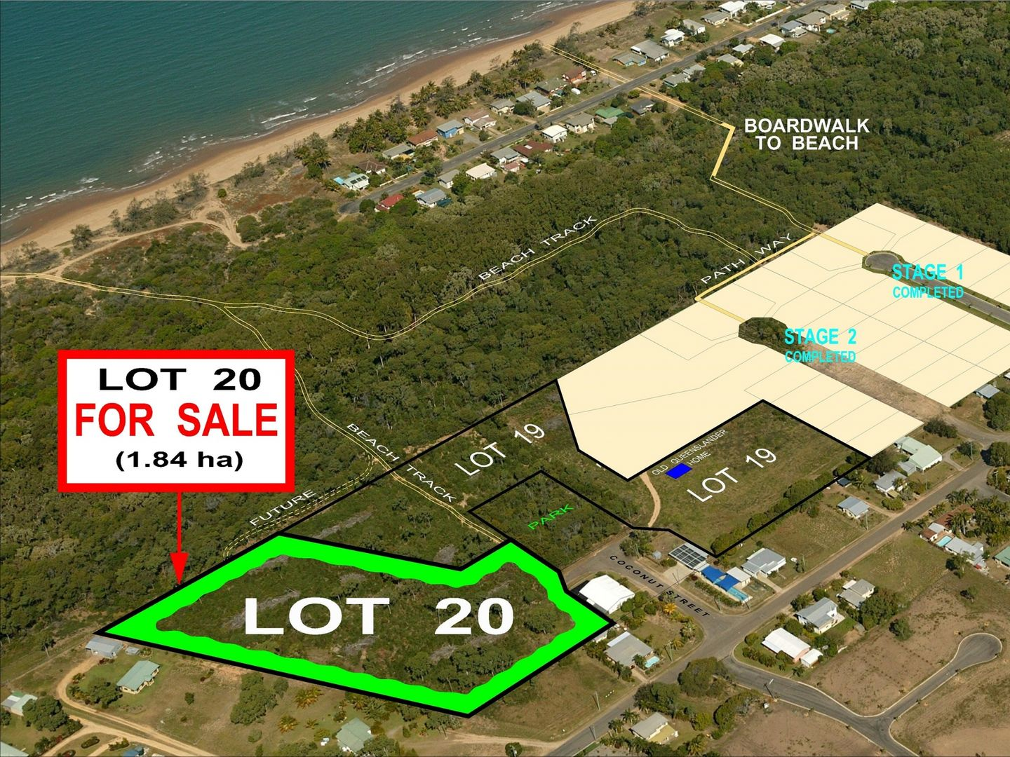 Lot 20 Coconut Street, Forrest Beach QLD 4850, Image 0