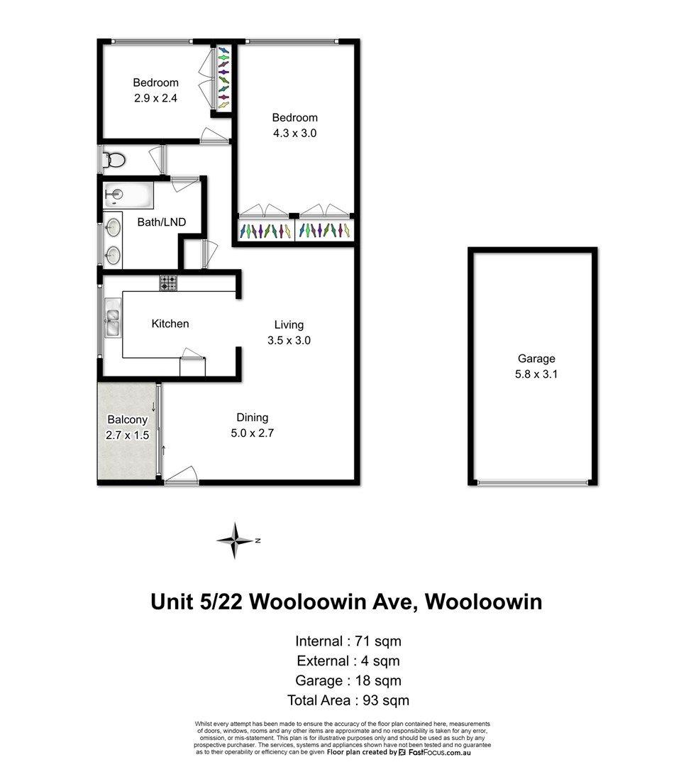 5/22 Wooloowin Avenue, Wooloowin QLD 4030, Image 0