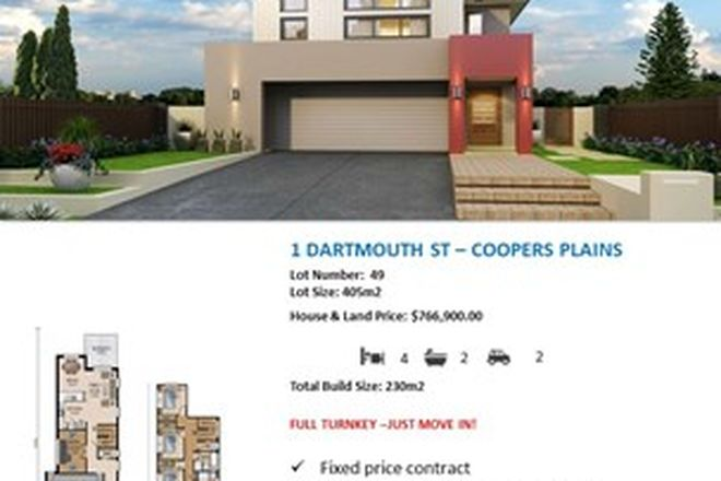Picture of 1 Dartmouth Street, COOPERS PLAINS QLD 4108