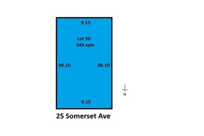 Picture of Lot 50/25 Somerset Avenue, REDWOOD PARK SA 5097