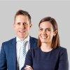 photo of Tim and Justine Burke