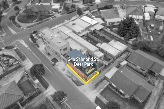 Picture of 24a Salmond Street, DEER PARK VIC 3023
