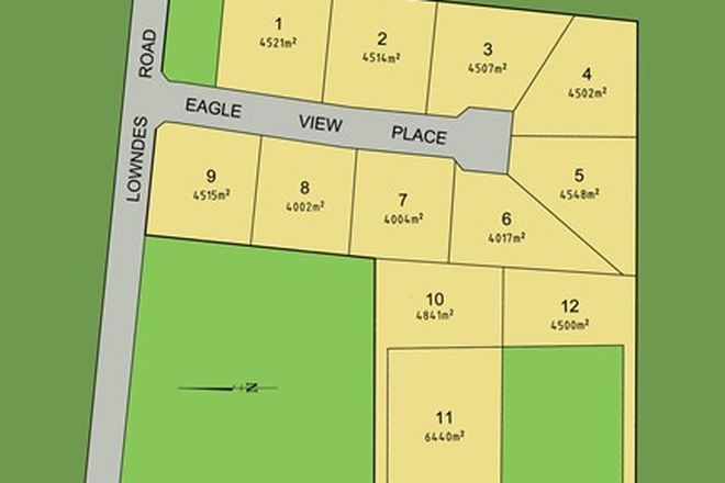 Picture of Lot 8 Eagles Place, BANNOCKBURN VIC 3331