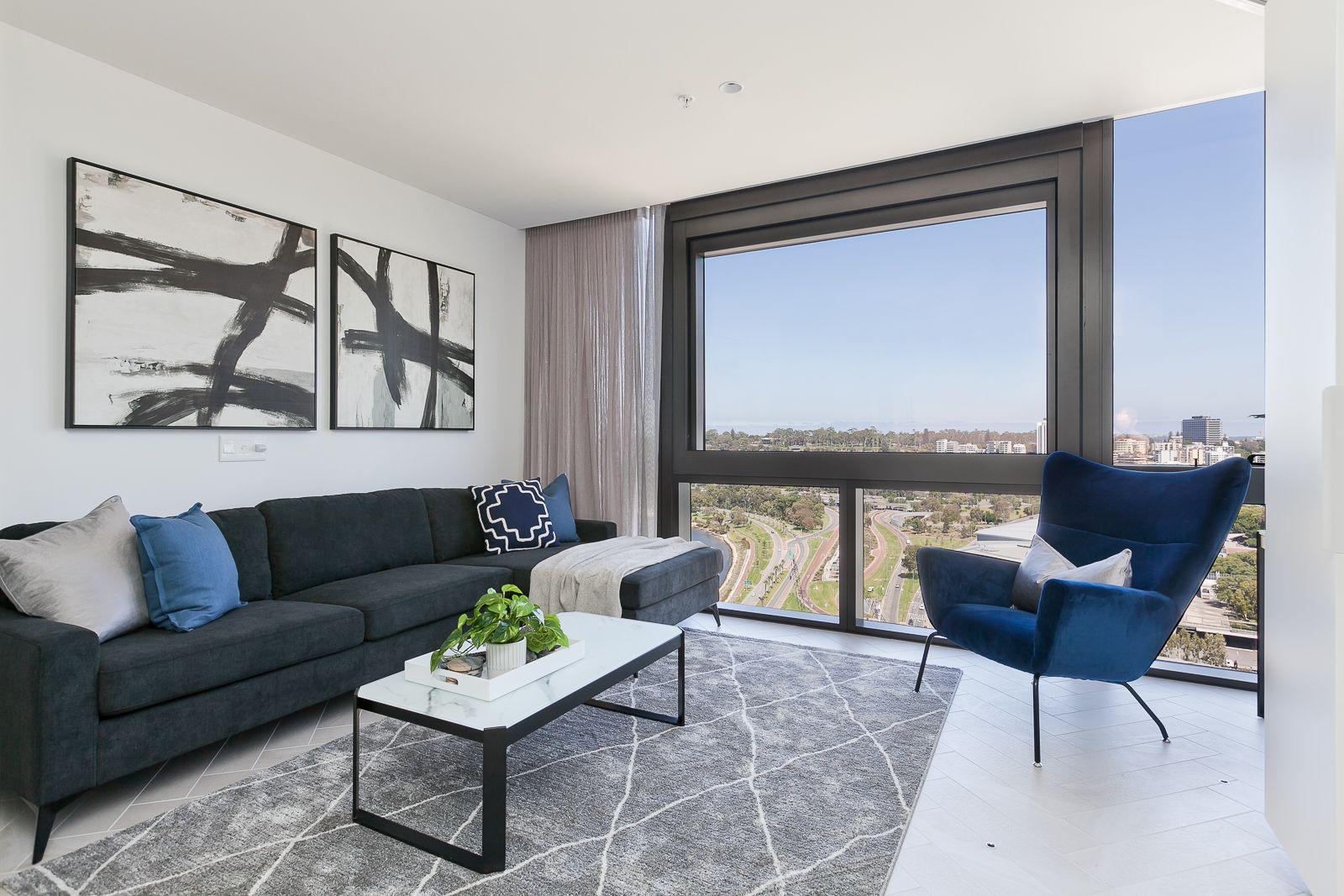 1 bedrooms Apartment / Unit / Flat in 2406/1 Geoffrey Bolton Avenue PERTH WA, 6000