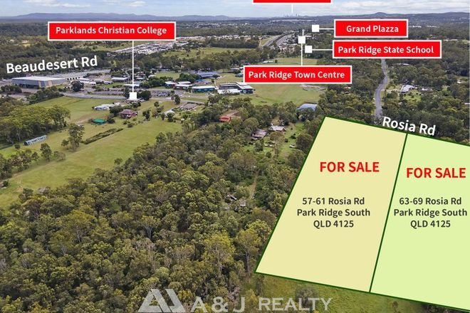 Picture of 57 & 69 Rosia Road, PARK RIDGE SOUTH QLD 4125