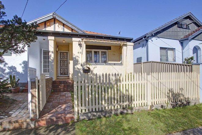 Picture of 40 Glenayr Avenue, NORTH BONDI NSW 2026