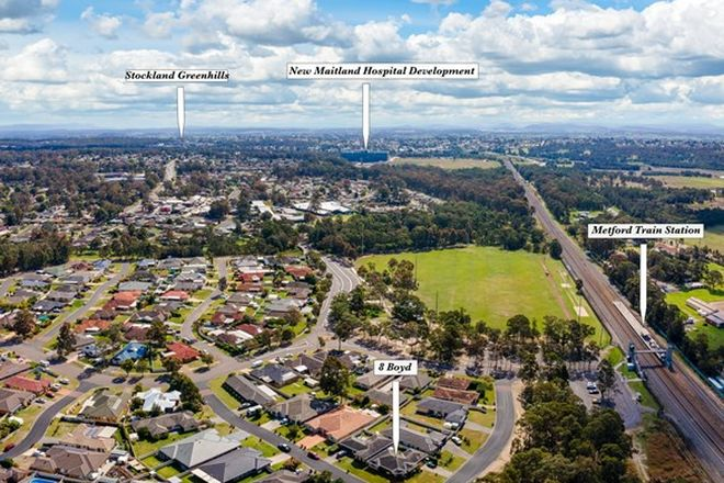 Picture of 2/8 Boyd Avenue, METFORD NSW 2323
