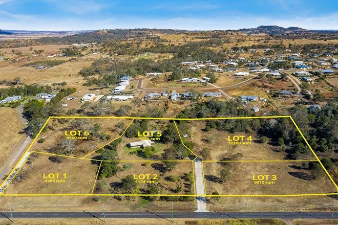 """Picture of """"Cawdor Views"""" Lots 1-6, Old Goombungee Road, GOWRIE JUNCTION QLD 4352"""