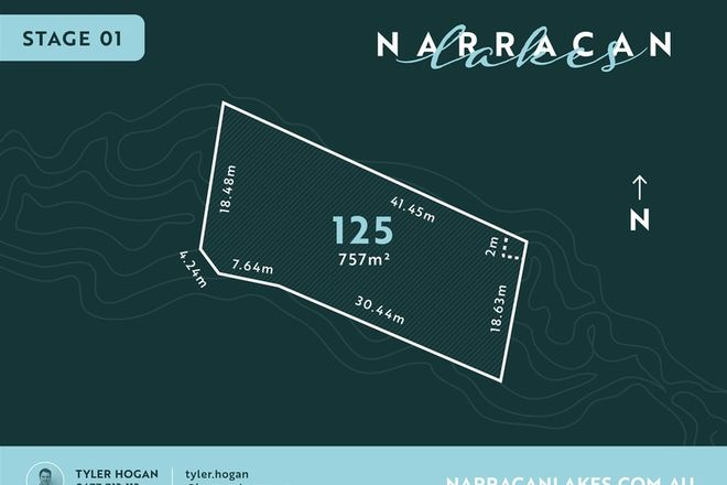 Picture of Lot 125 Narracan Lakes, NEWBOROUGH VIC 3825