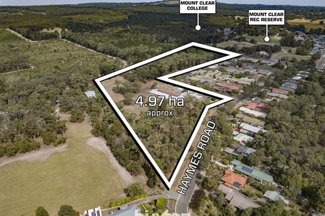Picture of 43 Haymes Road, MOUNT CLEAR VIC 3350