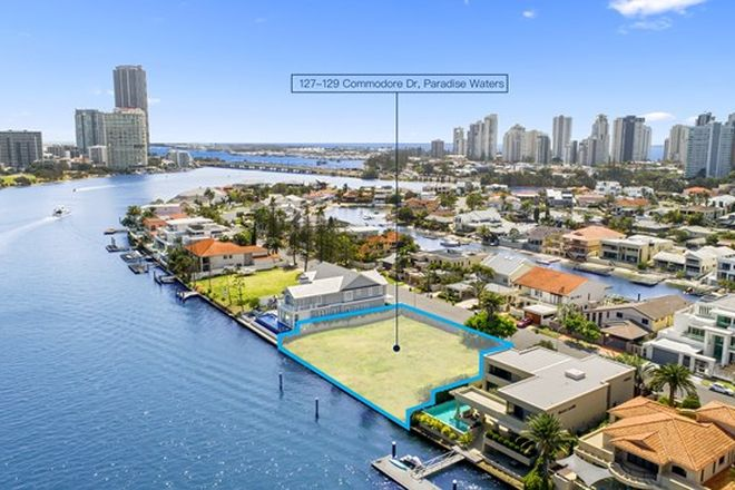 Picture of 127-129 Commodore Drive, PARADISE WATERS QLD 4217