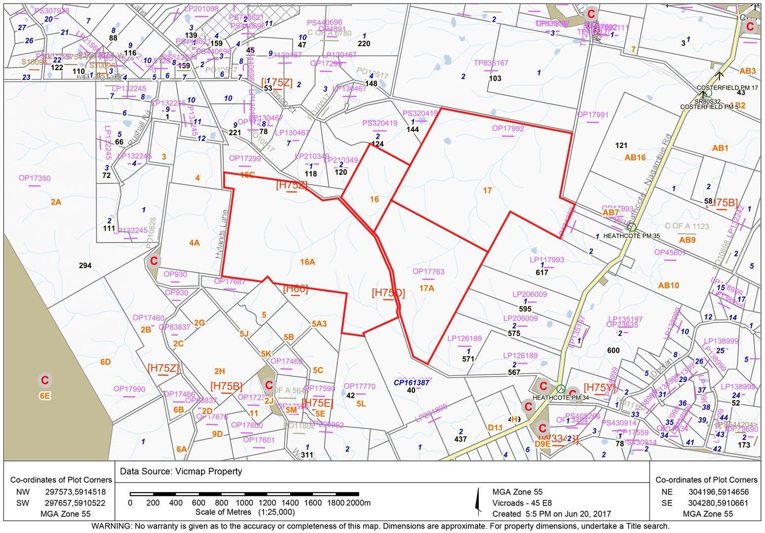 Lot 17, 17A, 16, 16A/294 Hylands Lane, Heathcote VIC 3523, Image 0