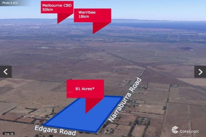 Picture of 205 Edgars Road, LITTLE RIVER VIC 3211
