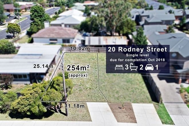Picture of 20 Rodney Street, GISBORNE VIC 3437