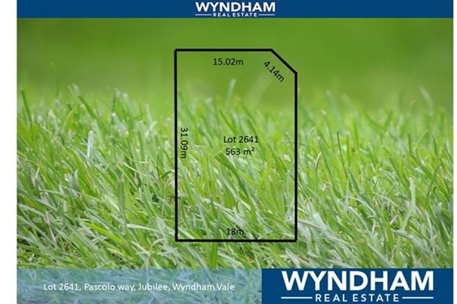 Picture of Lot 2641 Pascolo Way, WYNDHAM VALE VIC 3024
