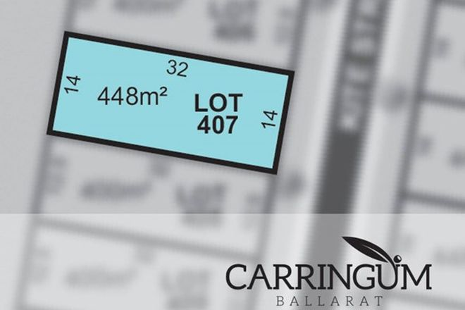 Picture of Carringum/Lot 407 Kite Street, WINTER VALLEY VIC 3358
