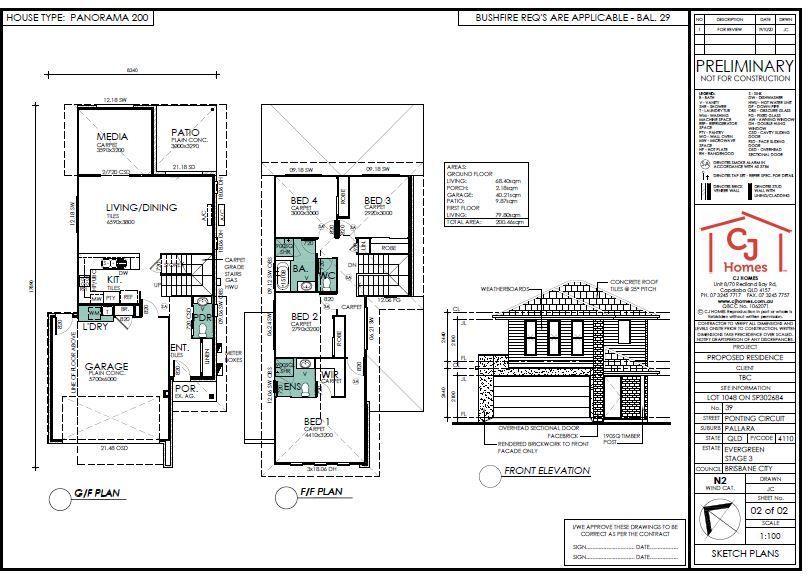 Lot 1048 Ponting Circuit (Evergreen Estate), Pallara QLD 4110, Image 2
