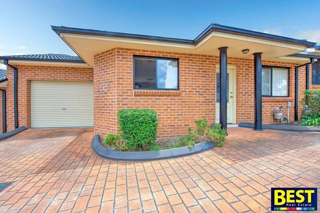 Picture of 4/20 Jersey Road, SOUTH WENTWORTHVILLE NSW 2145