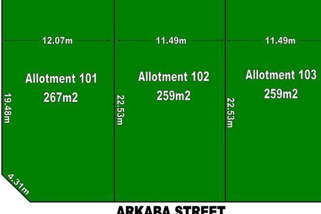 Picture of 11 Arkaba Street, TAPEROO SA 5017
