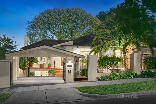 Picture of 55 Woodville Street, BALWYN NORTH VIC 3104