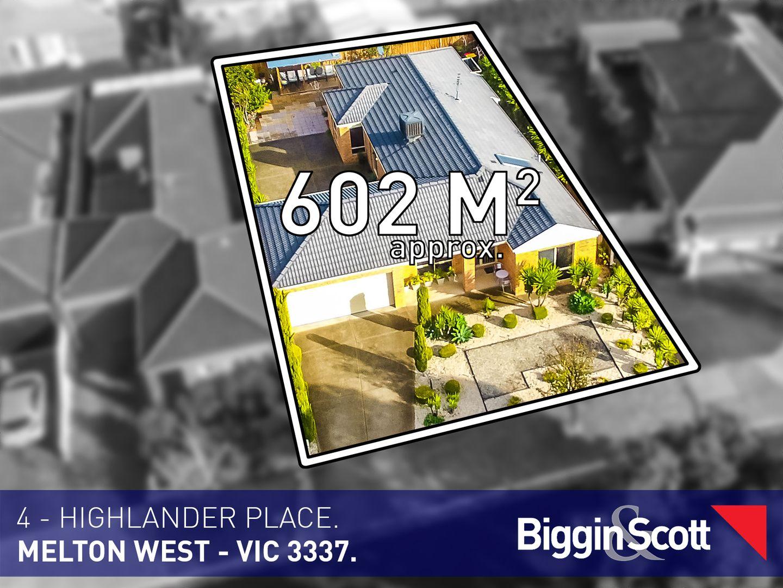 4 Highlander Place, Melton West VIC 3337, Image 1