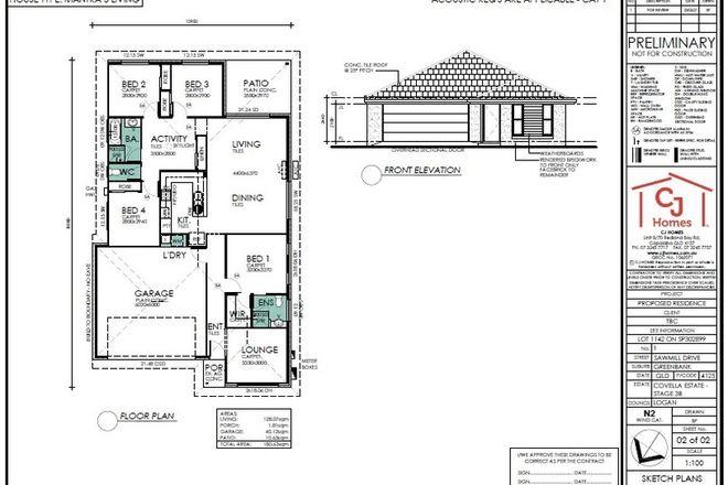 Picture of Lot 1142 Covella Estate, GREENBANK QLD 4124