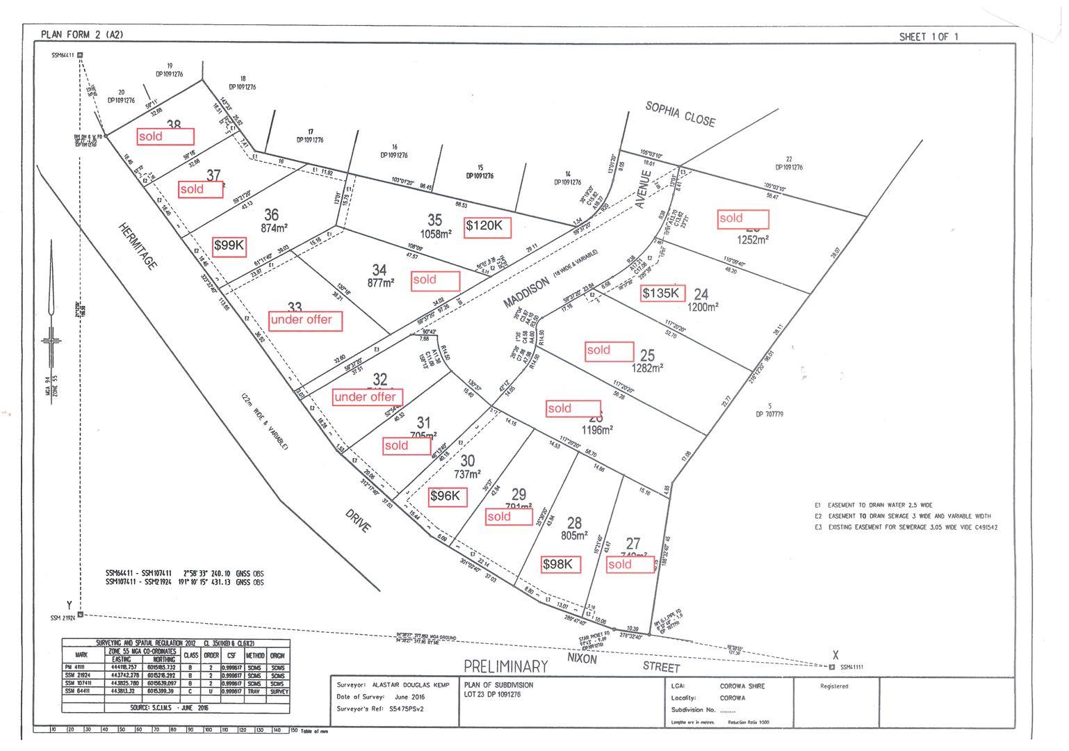 Lot 28 Maddison Avenue, Corowa NSW 2646, Image 0