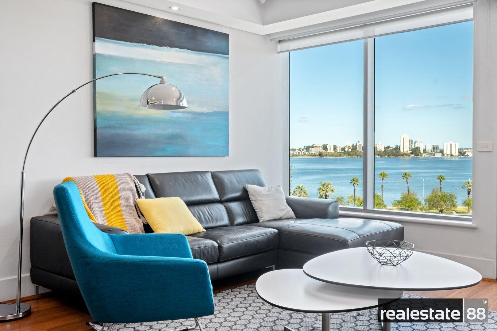 2 bedrooms Apartment / Unit / Flat in 603/108 Terrace Road EAST PERTH WA, 6004