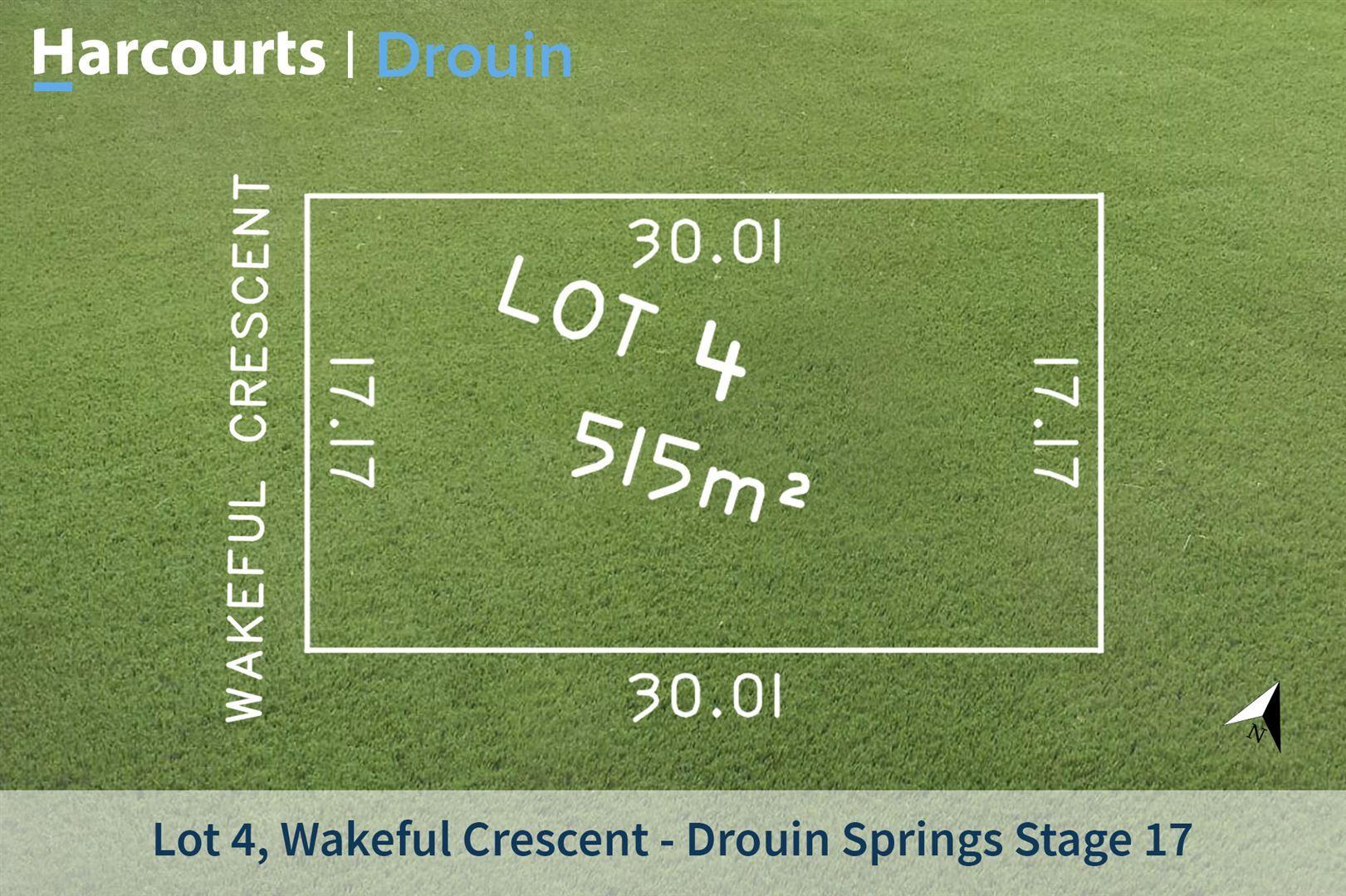Lot 4 Wakeful Crescent, Drouin VIC 3818, Image 0