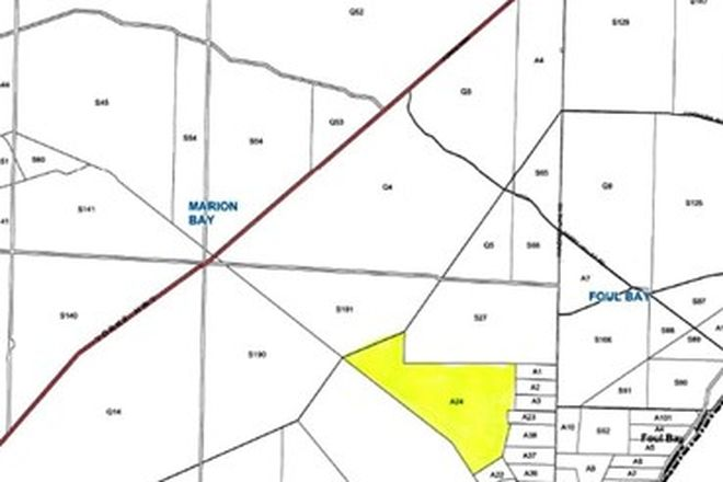 Picture of Lot 24 Hundred Line Road, FOUL BAY SA 5577