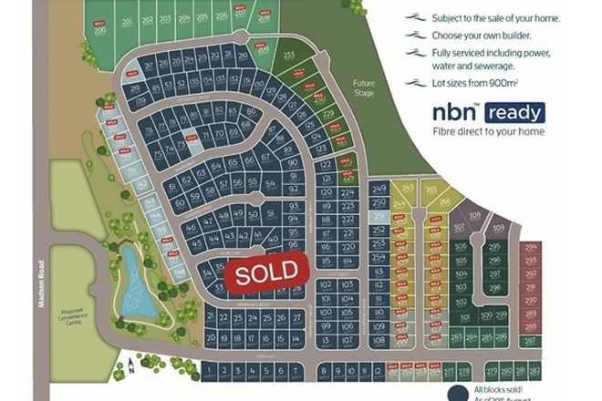 Picture of Lot 305 The Springs, NIKENBAH QLD 4655